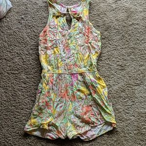 Lilly Pulitzer Romper with Lion Print